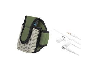 Running Armband+Headphone Accessory compatible with Apple® iPhone® 4 G iPod touch® 4G 4th Gen