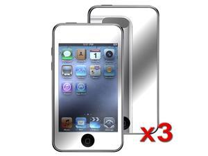 eForCity 3X Mirror Screen Protector Compatible With Apple® iPod Touch 2nd/3rd Gen