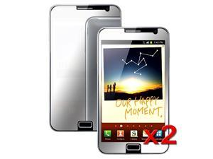 eForCity Anti-Glare LCD Screen Protector Cover Guard Film Shieldcompatible with Samsung©  Galaxy Note N7000, 2-Pack