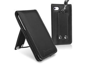 eForCity Leather Case Cover Compatible With iPod touch 4 G 4th Gen