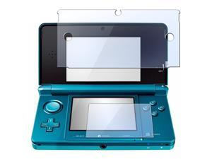 2in1 Clear LCD Screen Protector Cover for Nintendo 3DS