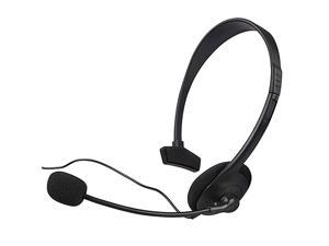 eForCity Headset Compatible with Microsoft Xbox 360, Black