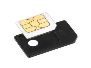 eForCity Micro SIM Card Adapter (Black)