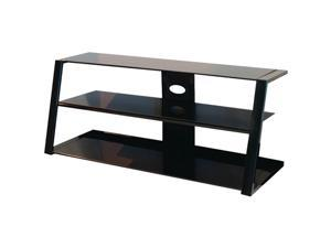 "Sylvan Ridge Ucp48Sr20 48"" Metal & Black Glass Tv Stand"