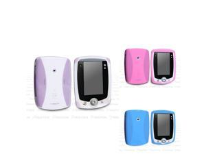 eForCity 3-Pack Compatible with Leappad Silicone Skin Case, Clear White/ Baby Pink/ Baby Blue