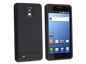 eForCity Silicone Skin Case for Samsung© Infuse SGH-i997 4G, Black