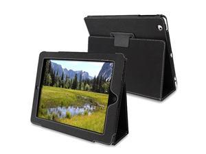 Black Embossed Leather Case w/ Stand Compatible With Apple® The new iPad /ipad 4 / iPad with Retina display