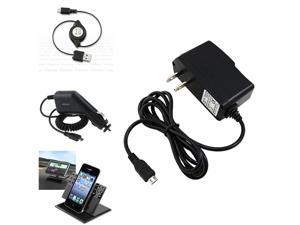 Charger+Holder+INSTEN USB Cable compatible with HTC Inspire 4G AT&T