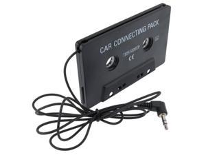 Car Audio Cassette Adapter Compatible With Apple® iPhone 4 16Gb 32Gb iPhone 4S - At&T, Sprint, Version 16Gb 32Gb 64Gb, Black