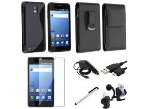 compatible with Samsung© Infuse 4G i997 Mega Accessory Case Combo