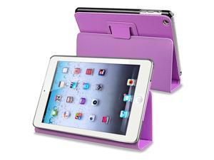 eForCity Leather Case with Stand Compatible with Apple iPad Mini / iPad mini with Retina display (iPad Mini 2), Purple