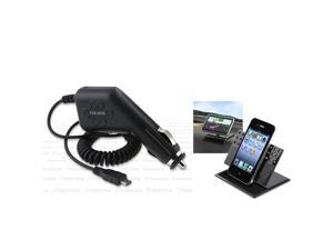 Holder+Car Charger Insten compatible with HTC Desire Z Tmobile G2