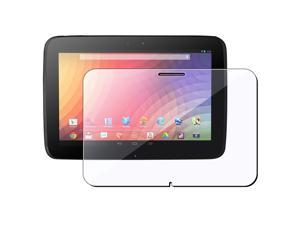 eForCity Clear Screen Protector Compatible with Google Nexus 10