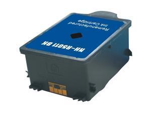 G&G 2-Pack Black Ink Cartridge Inkjet Compatible With HP #14 black, C5011