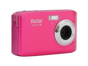 Vivitar ViviCam F128 VF128-PNK Pink 14.1 MP Digital Camera