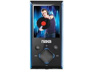 "Naxa Nmv173Nbl 4GB 1.8"" LCD Portable Media Player ,Blue"
