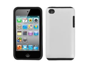 MYBAT White Fusion Protector Faceplate Cover(Rubberized) For Apple iPod touch(4th generation)