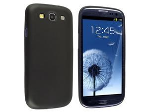 eForCity Slim Snap-in Case compatible with Samsung© Galaxy S III/ S3 , Clear Smoke