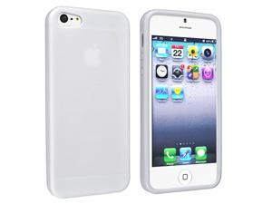 eForCity TPU Case Compatible with Apple® iPhone 5, White Skin Veins