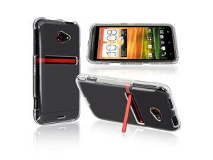 HTC EVO 4G LTE Clip-on Crystal Case , Clear