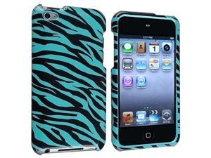 Baby Blue Zebra Case Cover Compatible with iPod Touch 4th Gen 4G 4