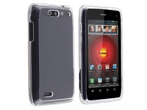 Snap-on Crystal Case compatible with Motorola Droid 4, Clear