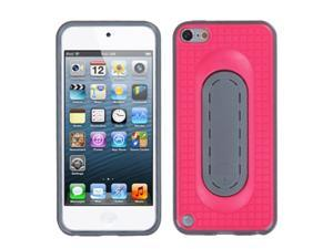 MYBAT Hot Pink Snap Tail Stand Protector Cover (with Package) Compatible With Apple® iPod touch (5th generation)