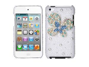 MYBAT Apple® iPod Touch iTouch i-Touch 4 IV 4th Generation Cell Phone High Quality Pearl Diamante Full Crystals Diamonds ...