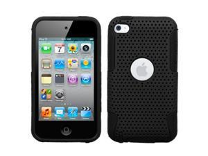 Black Astronoot Protector Cover Snap On Case for Ipod Touch 4th Generation