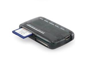 USB 2.0 All In One Mmc SD Cf Memory Card Reader Adapter