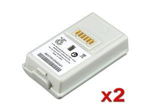 eForCity 2 packs of Replacement Batteries compatible with Microsoft Xbox 360 Controller / Battery
