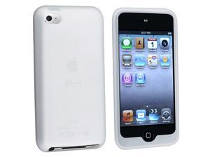 Silicone Skin Case Compatible With Apple® iPod touch 4th Gen, Clear White