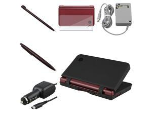 8 Accessories Charger Combo for Nintendo NDSi DSi XL / LL