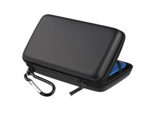 eForCity Eva Case Compatible With Nintendo 3DS XL, Black