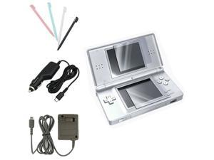 4 Accessory Bundle Charger Set For Nintendo DS Lite