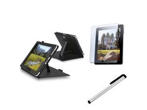 Leather Case+LCD Screen+Pen Accessories Compatible With Apple® iPad