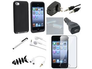 10 Accessory Bundle Case Charger Compatible With iPod touch 4th Gen