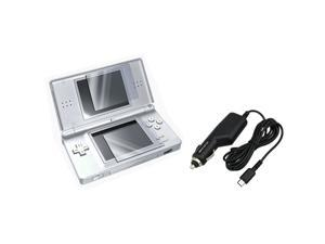 Screen Protector + Car Charger for NINTENDO NDS DS Lite