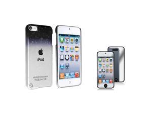 eForCity Clear Smoke Waterdrop Snap on Case Cover with FREE Mirror Screen Protector compatible with Apple® iPod touch® 5th ...