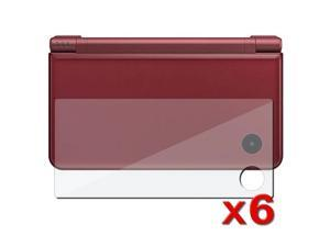 6 Pack Screen Lcd Film Protector For Nintendo Dsi Ll / Xl