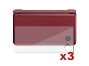 3-Pack Screen Lcd Shield Film For Nintendo Dsi Ll Xl