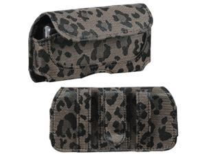 MYBAT Horizontal Pouch, Coffee Watermark