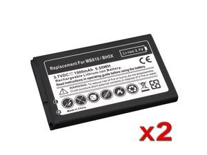 eForCity 2 Standard Battery Compatible with Motorola Droid X MB810 BH5X