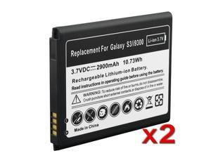 Li-ion Battery Compatible with Samsung© Galaxy S III / S3, 2-pack