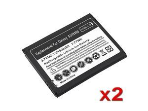 eForCity Replacement Battery compatible with Samsung© Galaxy S3 S III i9300, 2-Pack