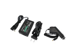 Car & AC Wall Power Charger Adapter For Sony PSP