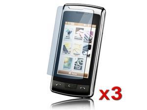 eForCity 3 X Compatible With LG Env Touch Vx11000 LCD Cover Screen Protector Cover Guard Film Shield