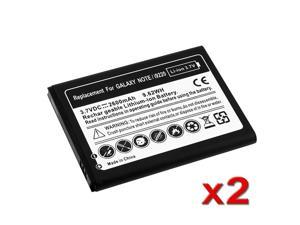 eForCity 2 packs of Li-ion Batteries Compatible with Samsung© Galaxy Note N7000