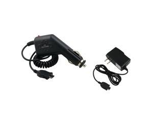 Car + Home Charger Compatible With Att Pantech Impact P7000 P-7000