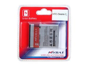 MYBAT Lithium-Ion Replacement 1100mAh Battery Compatible With HTC Desire C